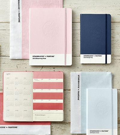 Quando Starbucks, Moleskine e Pantone se unem para criar os mais lindos cadernos
