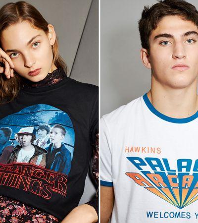 Marca cria coleção de roupas de Stranger Things