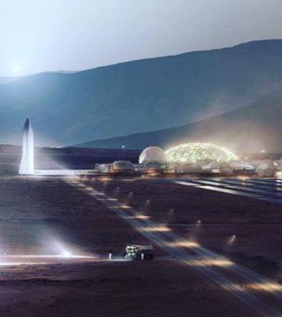 Elon Musk quer colonizar lua e mandar foguete tripulado para Marte em 2024