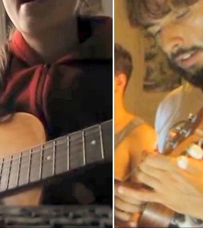 3 anos após falecimento da irmã ele criou um vídeo para realizar o sonho de tocar com ela