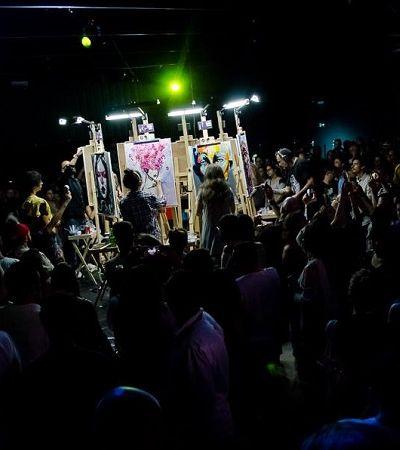 Art Battle: artistas se reúnem para mais uma inspiradora batalha em São Paulo