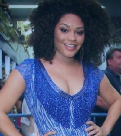 Juliana Alves é criticada por ir à escola de samba depois de parir e responde da melhor maneira