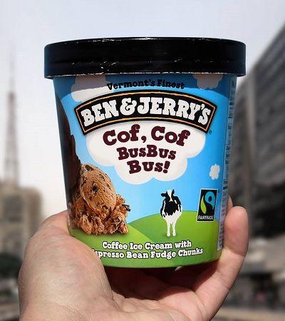 Para alertar sobre a poluição do ar, Ben & Jerry's muda nome de sabor de sorvete
