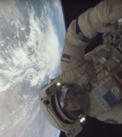 Vídeo 360º dá a você a chance de fazer caminhada espacial com cosmonautas russos