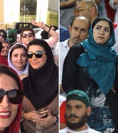 A luta das mulheres iranianas pelo direito de frequentar estádios