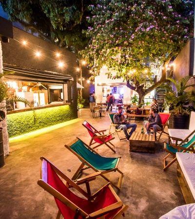 Lar Mar: uma loja, restaurante, bar e coworking pé na areia bem no meio de SP