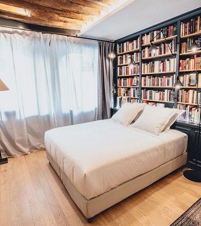 A 'livraria' francesa onde você pode, literalmente, passar a noite