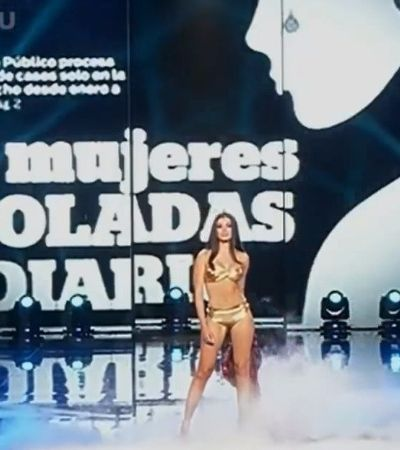 Candidatas do Miss Peru anunciam números de feminicídio em vez de suas medidas