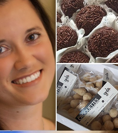 Ela saiu da periferia de SP para ganhar Dubai com doces e salgadinhos brasileiros