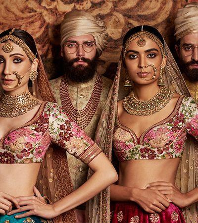 14 fotos para você se apaixonar pela moda tradicional indiana