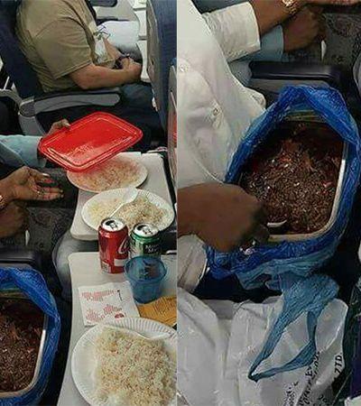 A reação dessa avó ao saber que só serviam biscoito no voo foi a melhor possível