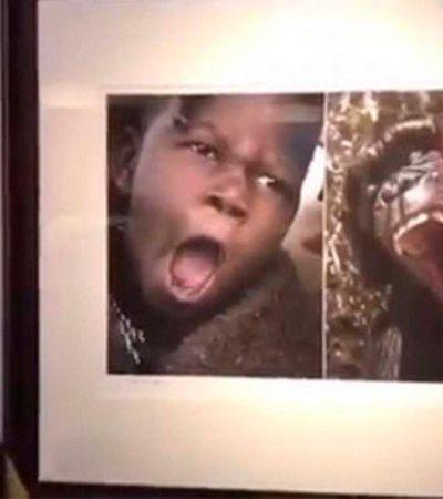 Museu chinês causa revolta ao comparar pessoas negras a macacos em exposição