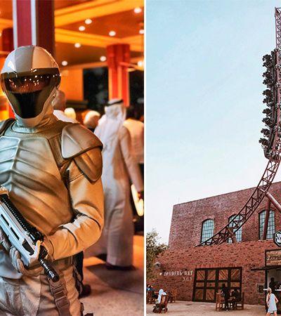 Algumas imagens do parque temático de Jogos Vorazes já foram divulgadas