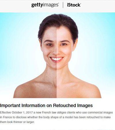 Getty Images vai banir uso de photoshop em modelos para promover autoestima