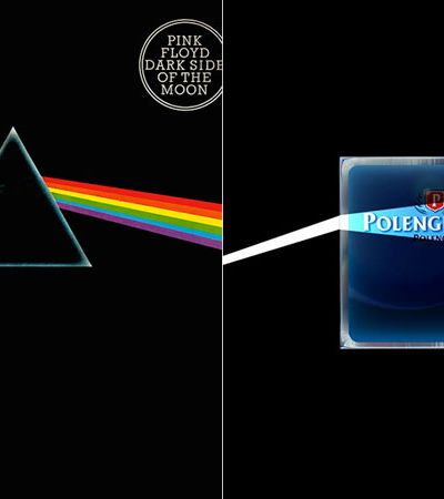 Polenguinho é atacada após post sobre o Pink Floyd ser confundido com símbolo LGBT
