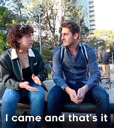 Ela gozou? 'Acho que sim'. Vídeo satiriza individualismo masculino no sexo