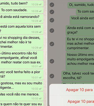 Nova função do WhatsApp permite 'desenviar' mensagens acidentais ou embaraçosas