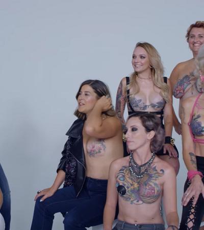 Série poderosa mostra o poder das tattoos na superação de mastectomias