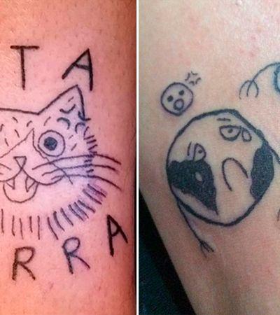 'Malfeitona', a tatuadora brasileira que se orgulha de fazer desenho 'feio'