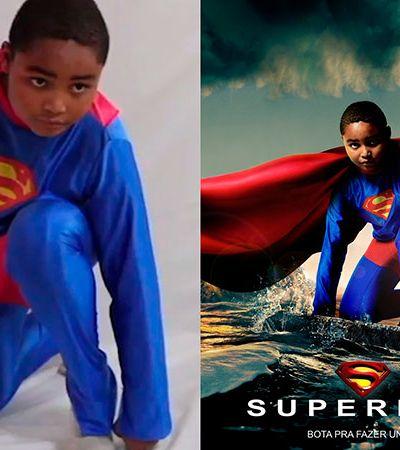 Crianças de MG portadoras de deficiência viram super-heróis por um dia