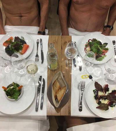 Paris ganha o primeiro restaurante onde os clientes jantam completamente nus