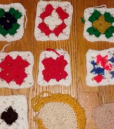 'O avanço do Alzheimer por meio dos crochês da minha mãe'. Filha registra efeitos da doença