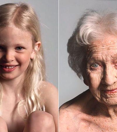 Projeto mostra envelhecimento da mulher de 0 a 100 anos em 60 segundos e é pura poesia