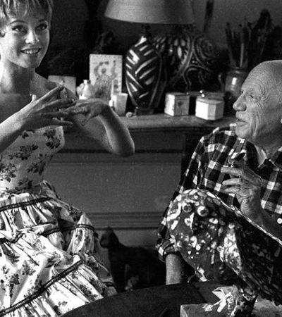 Série fotográfica retrata o dia em que Brigitte Bardot visitou o ateliê de Picasso