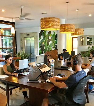 Plataforma oferece diárias grátis em vários coworkings por todo o Brasil