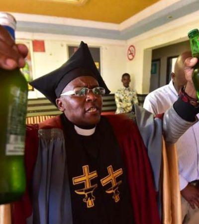 Esta igreja sul-africana venera o goró e encoraja o consumo de álcool durante as missas