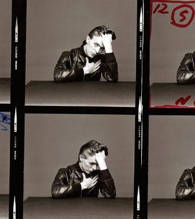 Conheça as foto não divulgadas de David Bowie na sessão fotográfica para a capa de Heroes