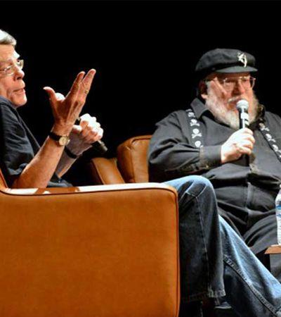 'Como diabos você escreve tão rápido', George R. R. Martin pergunta a Stephen King