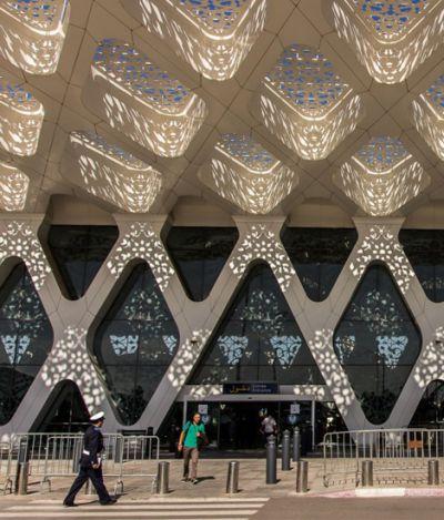 O novo aeroporto de Marrakech é tão sensacional que você nem vai se importar se o voo atrasar