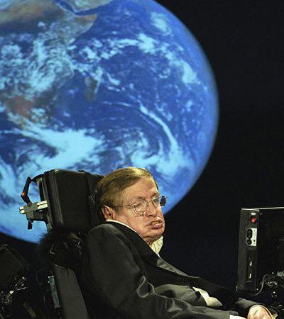 Stephen Hawking: Por 'culpa' da humanidade, Terra vai virar bola de fogo em 600 anos