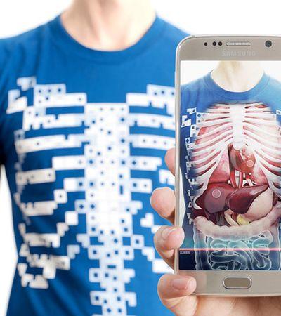 Aplicativo de realidade virtual permite que você veja seu corpo 'por dentro'