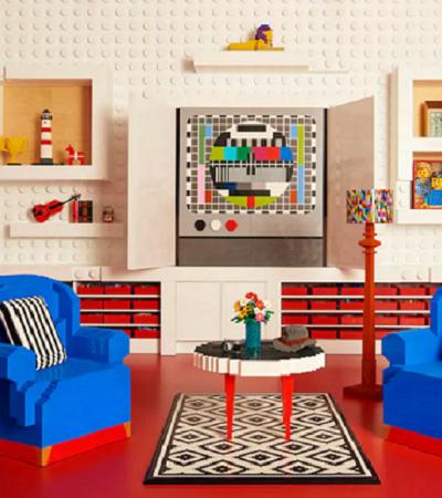 Airbnb tem promoção para hospedar turistas em mansão feita de LEGO