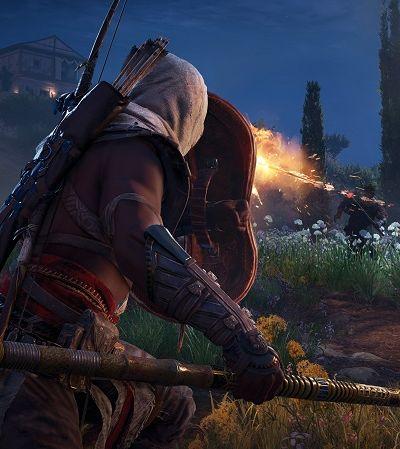 Descobriram uma orgia escondida em 'Assassin's Creed Origins'. E você pode espiar…