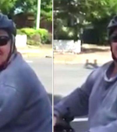 Cansada de ser assediada pelo mesmo homem ela decidiu gravar um vídeo que viralizou