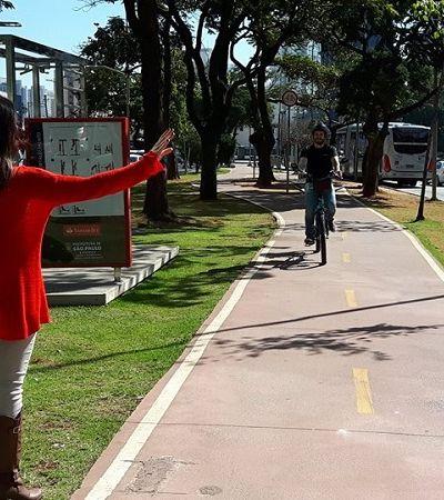 Conheça o Bikxi, 'Uber da bicicleta' onde o passageiro só pedala se quiser