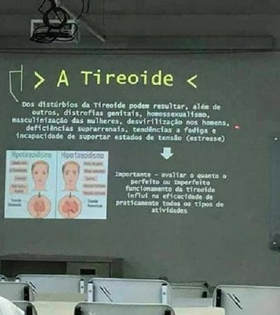 Professor da USP relaciona homossexualidade com distúrbios na tireoide e revolta alunos