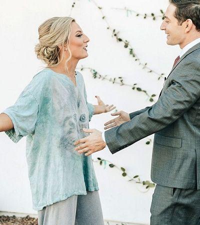 Supresa! Noiva veste pijama no dia do casamento para pregar pegadinha no noivo
