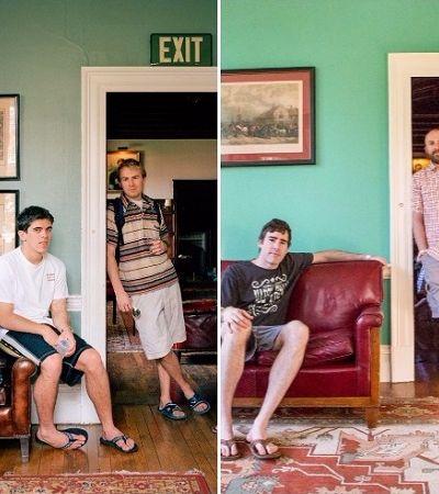 Fotógrafa faz antes e depois de seus amigos em 2000 e 2017 e mostra como mudamos com a idade