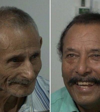 Irmãos se reencontram em quarto de hospital de Maceió após 50 anos sem se verem