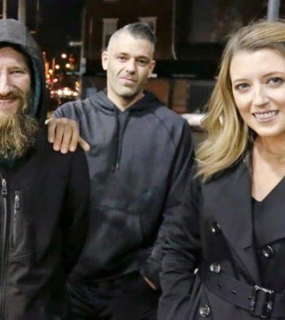 Homem em situação de rua dá seus últimos US$ 20 à moça. E ela arrecada mais de US$ 200 mil para ele