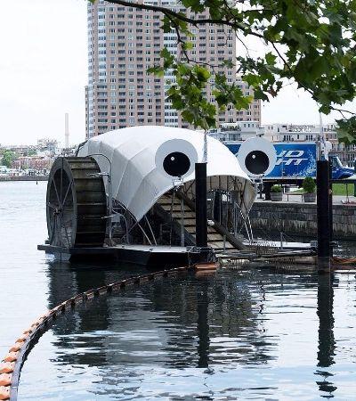 Seria este coletor de lixo aquático a solução para os rios paulistanos?