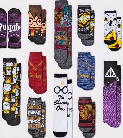 Calendário do Harry Potter vem com 12 pares de meias do bruxinho mais amado