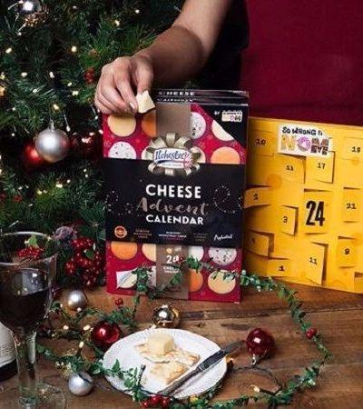 O maravilhoso calendário natalino que te dá queijos até o fim do ano