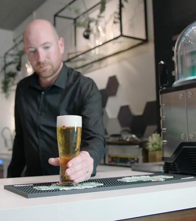 Heineken lança 'Nespresso de cerveja' que pode servir 8 litros por cápsula