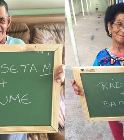 Após um Natal cheio de presentes, estes vovôs de um asilo do PR pedem novamente sua ajuda