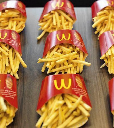 Após sucesso de refil na Black Friday, McDonald's anuncia volta de McFritas tamanho família